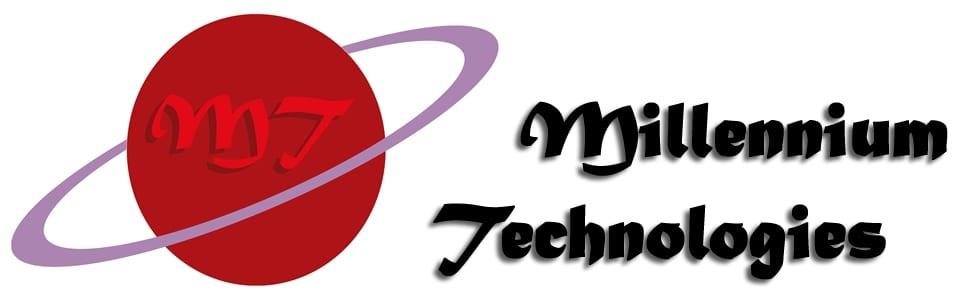 Millennium Technologies Logo With Text