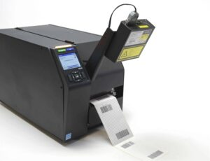 T8000 Thermal Printer Open with Label