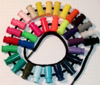 Mini Cord Locks in 32 colors