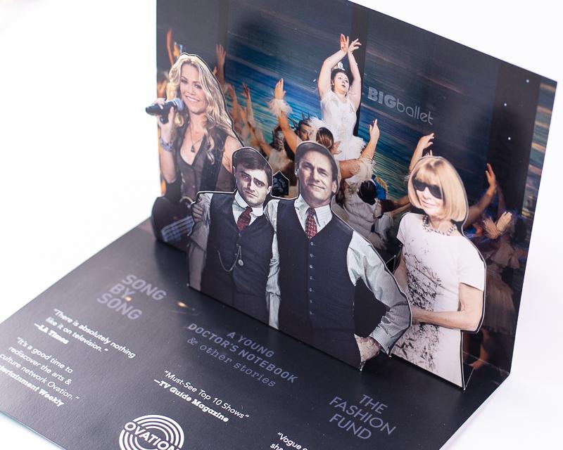 3-D Custom Pop Up Card