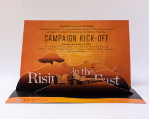 Direct mail pop up