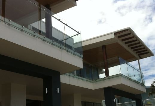 Balustrade Side Fixed with Side Rail