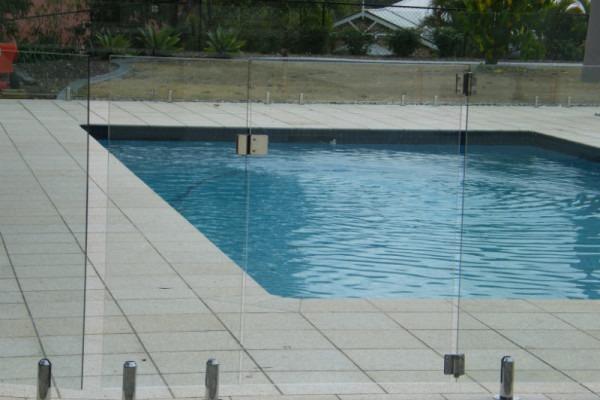 Frameless Pool Fence Gate