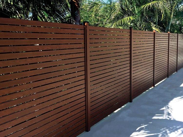 Timber Imaged Aluminium Screens