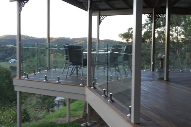 Semi Frameless Balustrade