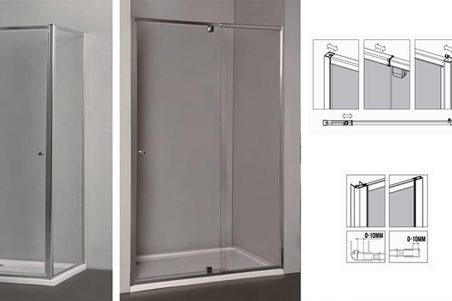 Frameless Shower Panels