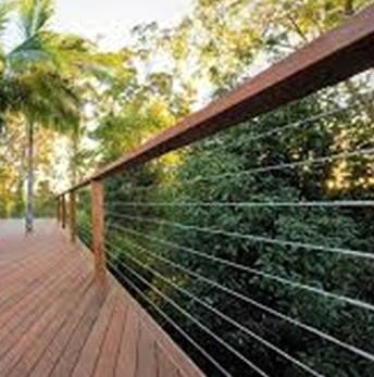 Breezewire stainless steel wire balustrades balustrdaing