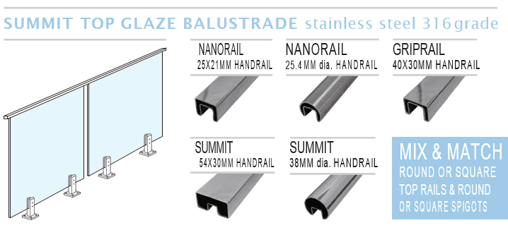 Top Rail Balustrades