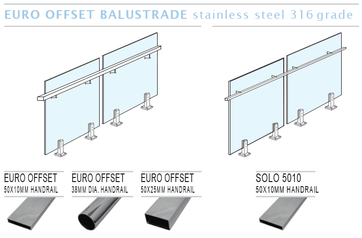 Euro Offset Balustrade