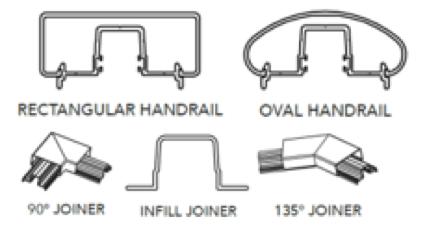 aluminium handrail 2