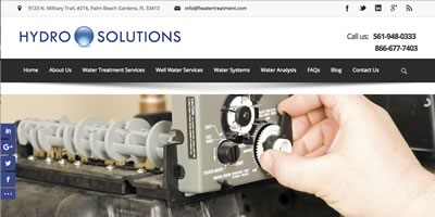 Hydro Solutions - Florida Water Treatment