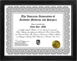 certificate-aesthetics-101
