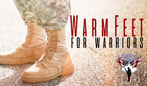 Warm Feet for Warriors