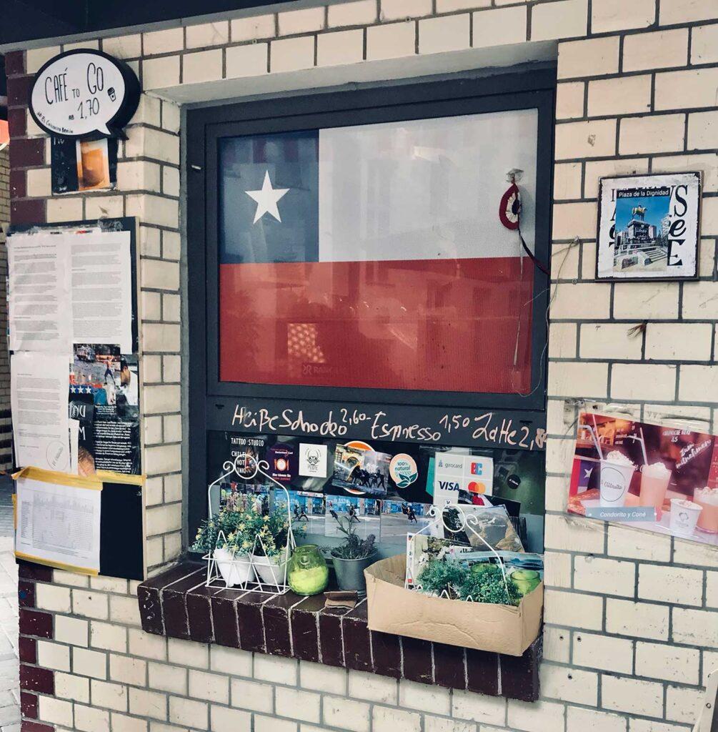 La bandera de Chile en El Chilenito - empanadas - Lado|B|erlin.