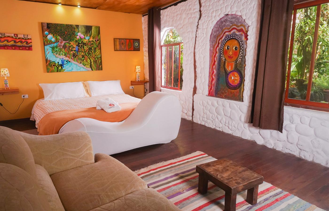 hotel romantico baños ecuador