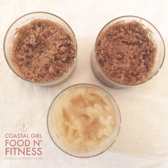 Homemade relaxing sugar scrubs in under 15 minutes!