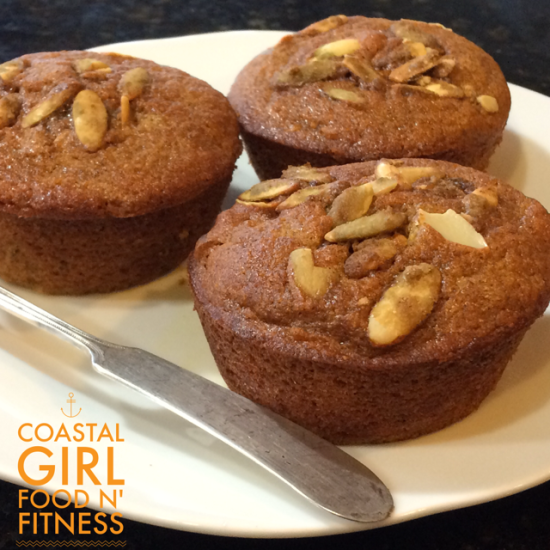 Pumpkin Muffins: gluten free and refined sugar free