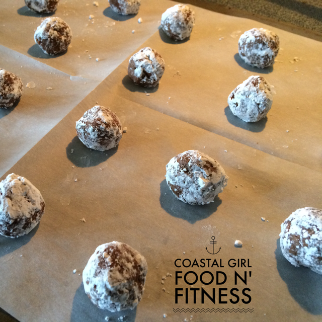 Chocolate Crinkles: Ready for oven!
