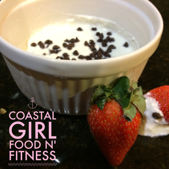 Cannoli Dip: A delicious decadent treat that fits perfect into the 21 Day Fix!
