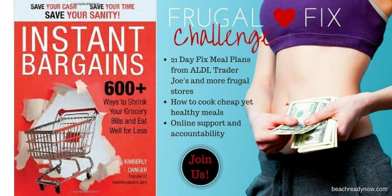 Frugal Fix Challenge Group: Learn how it is possible to eat healthy on a budget!
