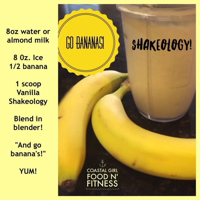 A simple but delicious Shakeology recipe!