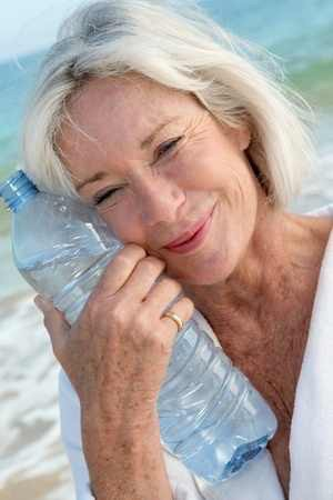 Water and positive effects on aging
