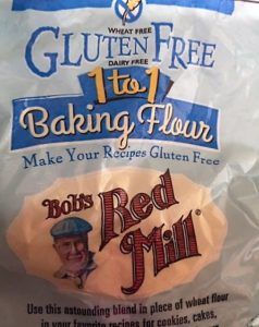 Bob's Red Mill 1:1 Baking Flour: gluten free