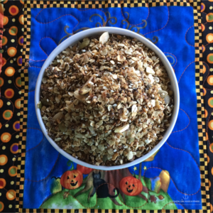 Skillet Pumpkin Granola! Quick, easy and healthy!
