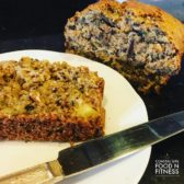 Gluten Free Zucchini Pineapple Bread! So good no one will notice it is gluten free!