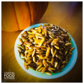 Roasted Turmeric Pumpkin Seeds: A healthy treat!