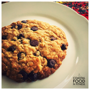 Chocolate Chip Oatmeal Cookie for 1: Chocolate Chip Oatmeal Cookie for 1! When you crave a hot out of the oven cookie but don't want to spiral out of control by eating half the batch!