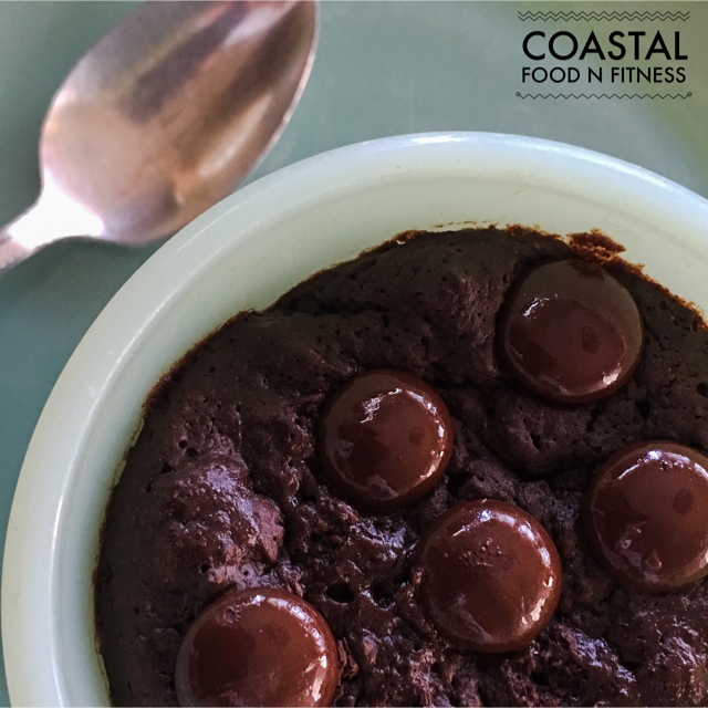 Have a craving for something chocolate? Maybe a rich chocolate brownie? Worried you will cave in and eat the whole pan? Never fear! Try this Brownie in a Mug for One!
