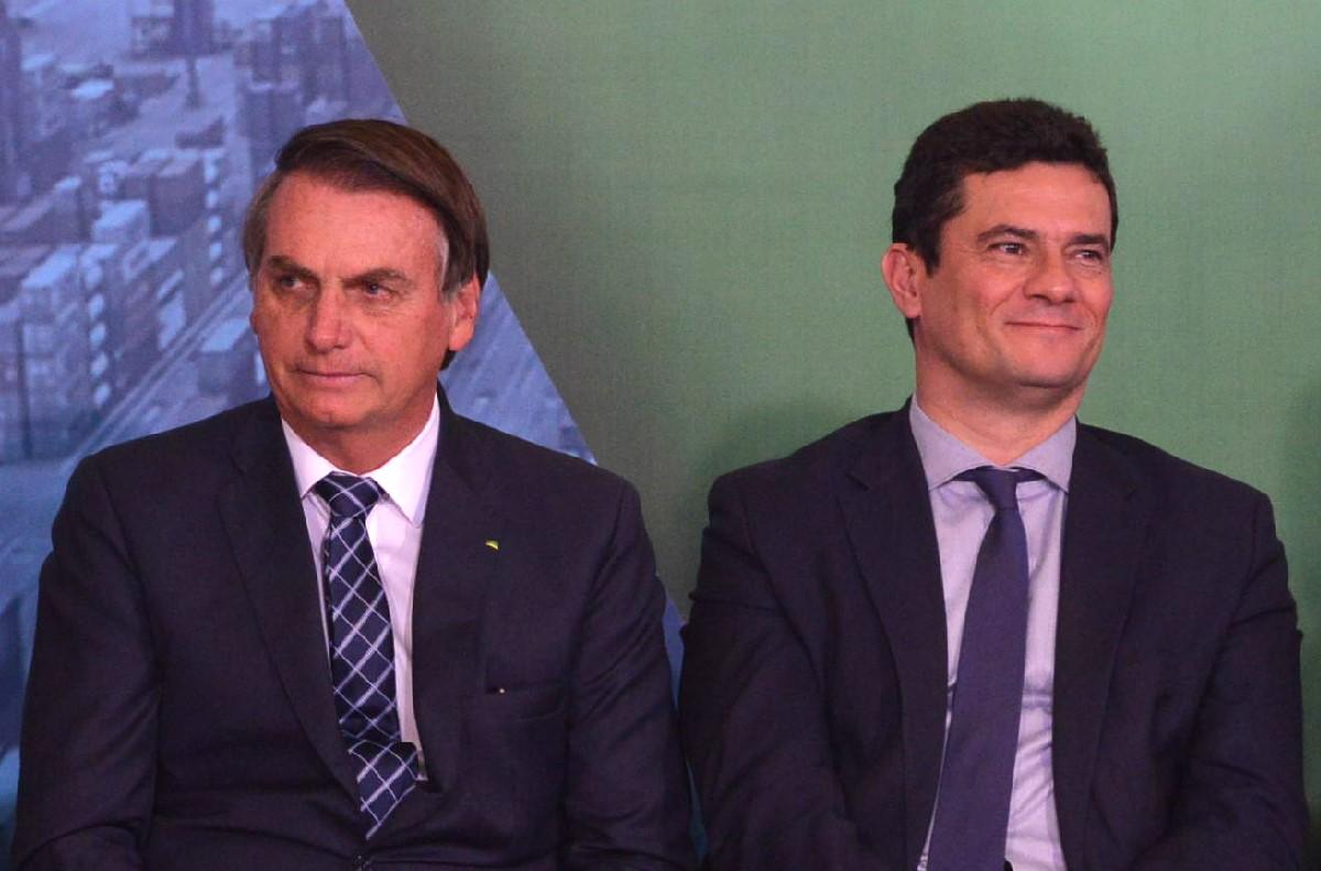 Moro utiliza a Internet para conter Bolsonaro