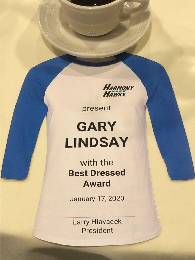 President's award 3