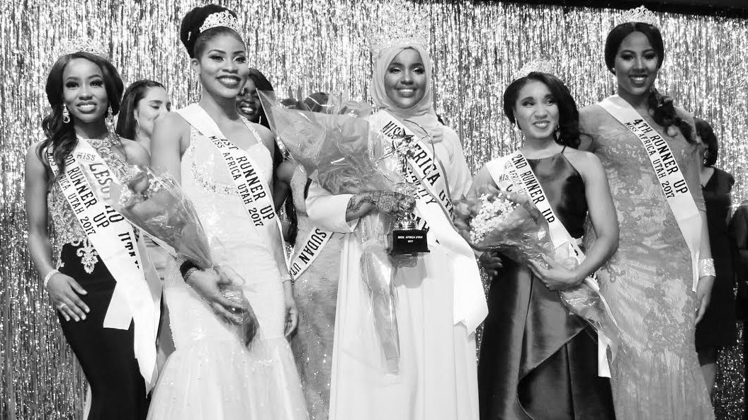 Congratulations to Miss Somalia for Winning the title of MISS AFRICA UTAH 2017