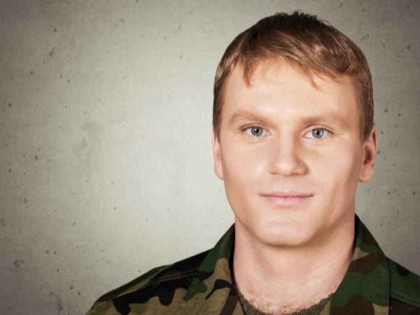 military veteran with PTSD trauma
