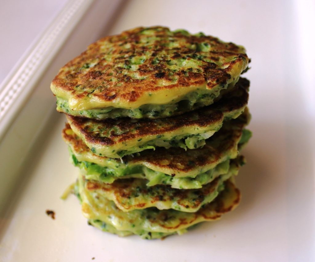 Broccoli and Zucchini Fritters