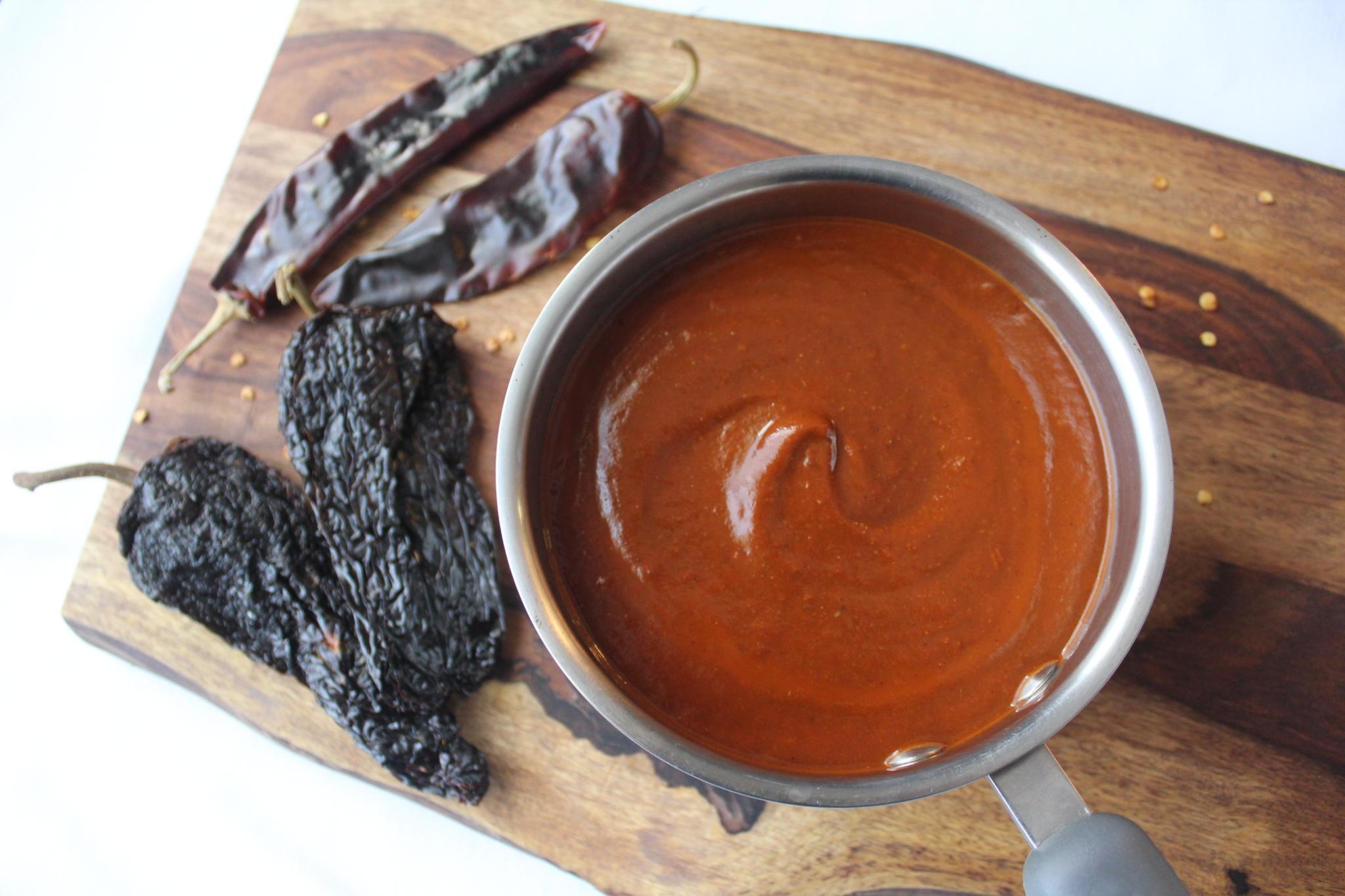 Homemade Enchilada Sauce (gluten-free)