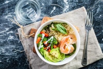 Shrimp Buddha Bowl