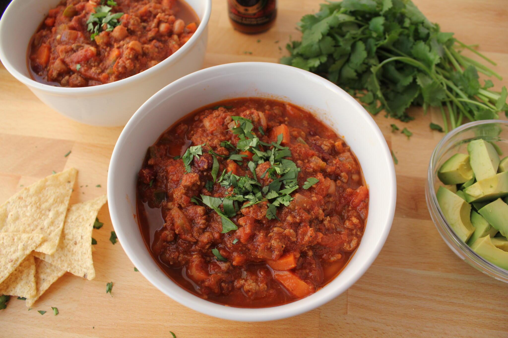 Big Batch Chili Recipe