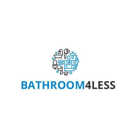 Bathrooms4less Logo