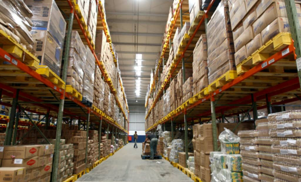 Dry goods warehouse