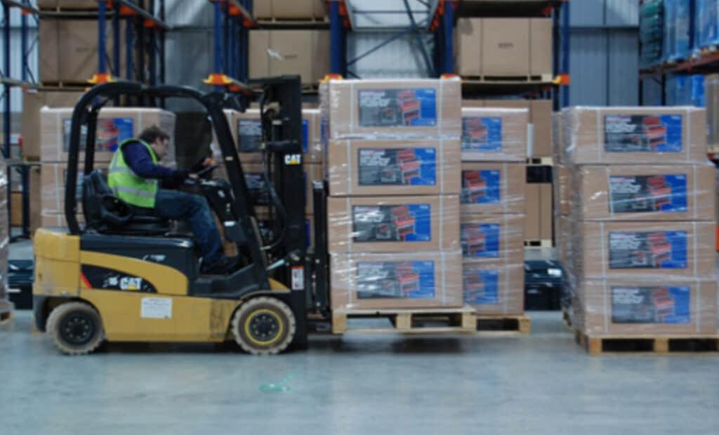 Warehouse Forklift Truck