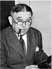 H.L. Mencken (born 1880 - died 1956) was a journalist, satirist, critic, and a registered Democrat.