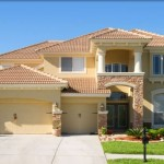 Photo of new Florida Home Construction.