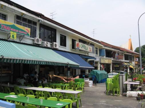 Jalan kayu eateries