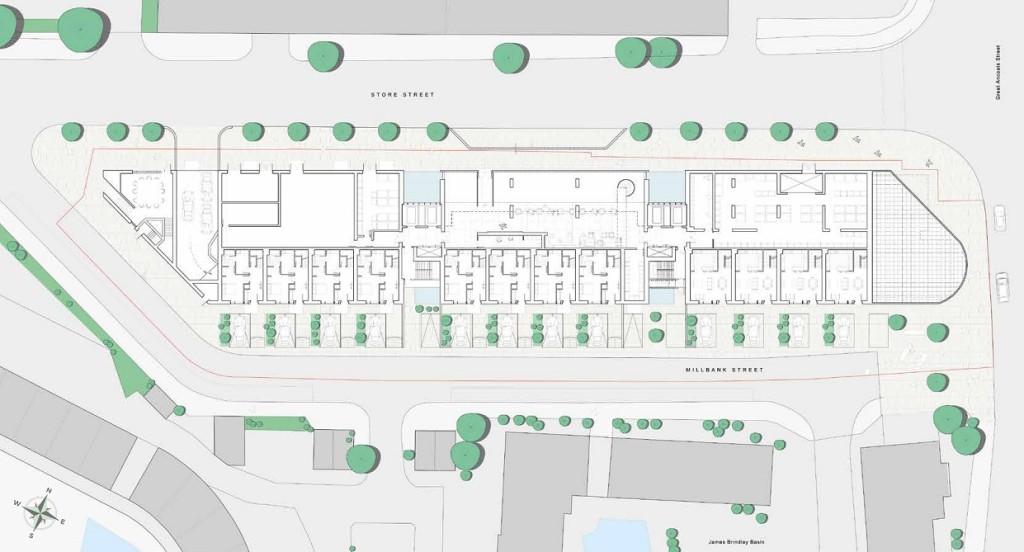 Oxygen Tower Site Plan
