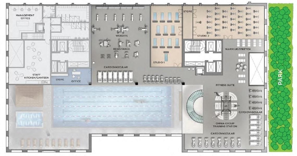 Royal wharf facilities