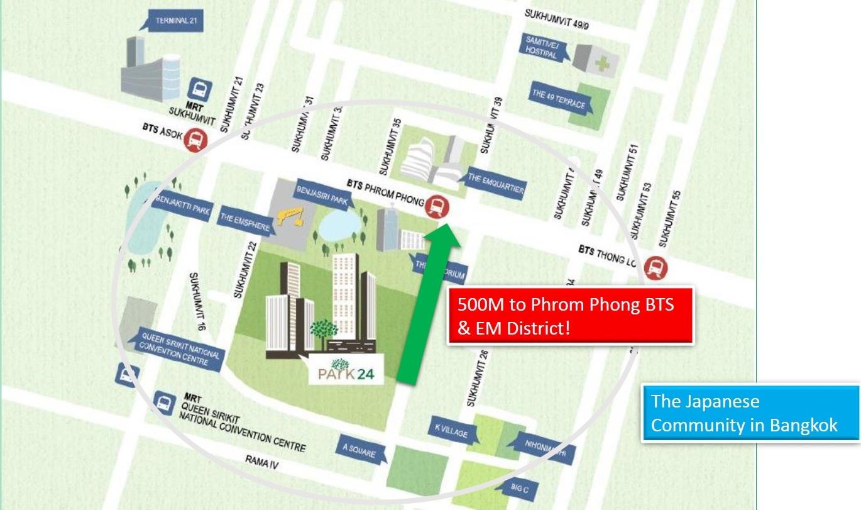 Park 24 Bangkok location