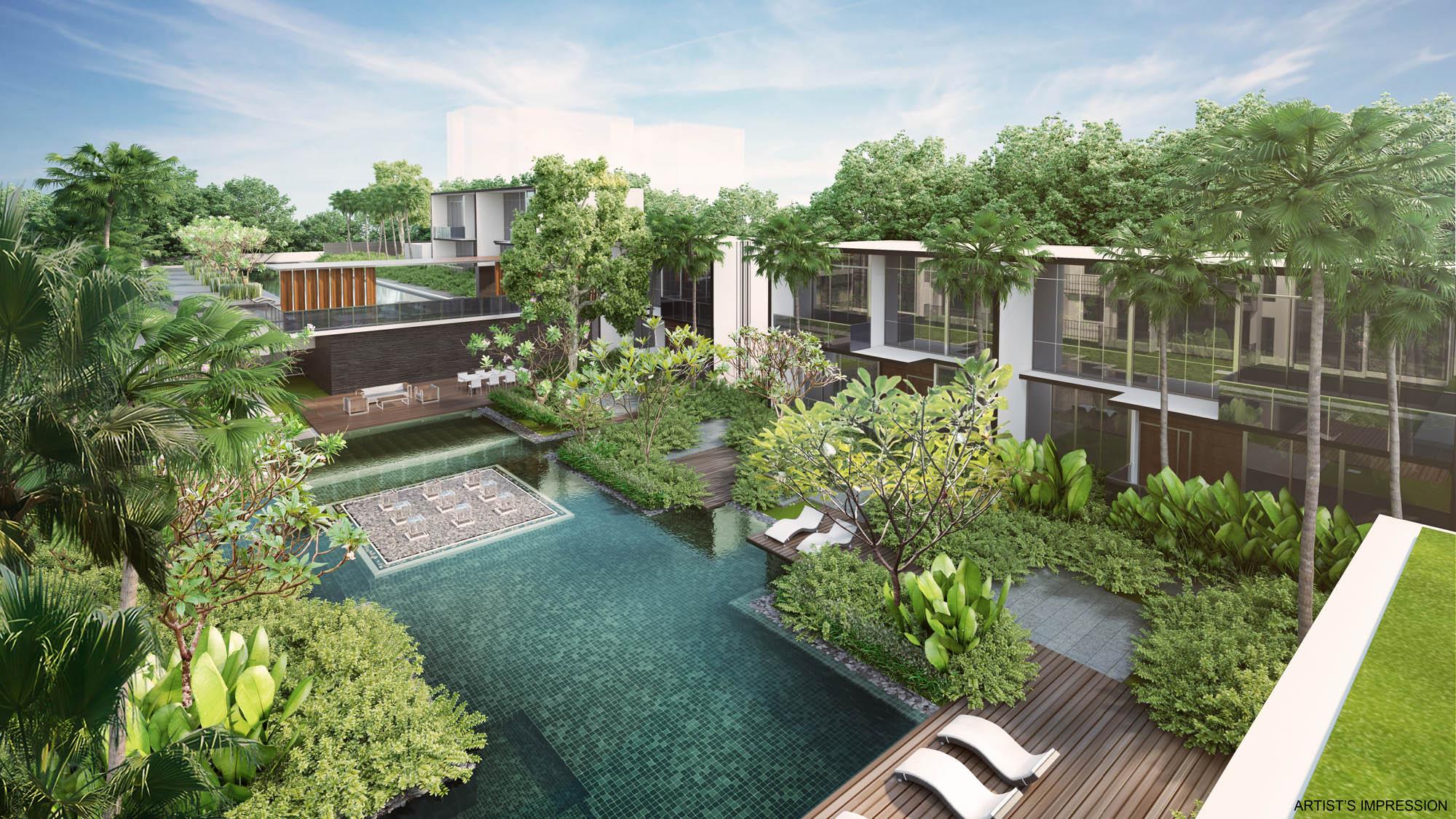 Singapore condo near thomson east coast line